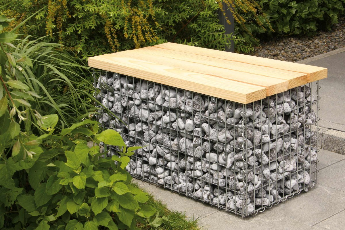 gabion decorativ
