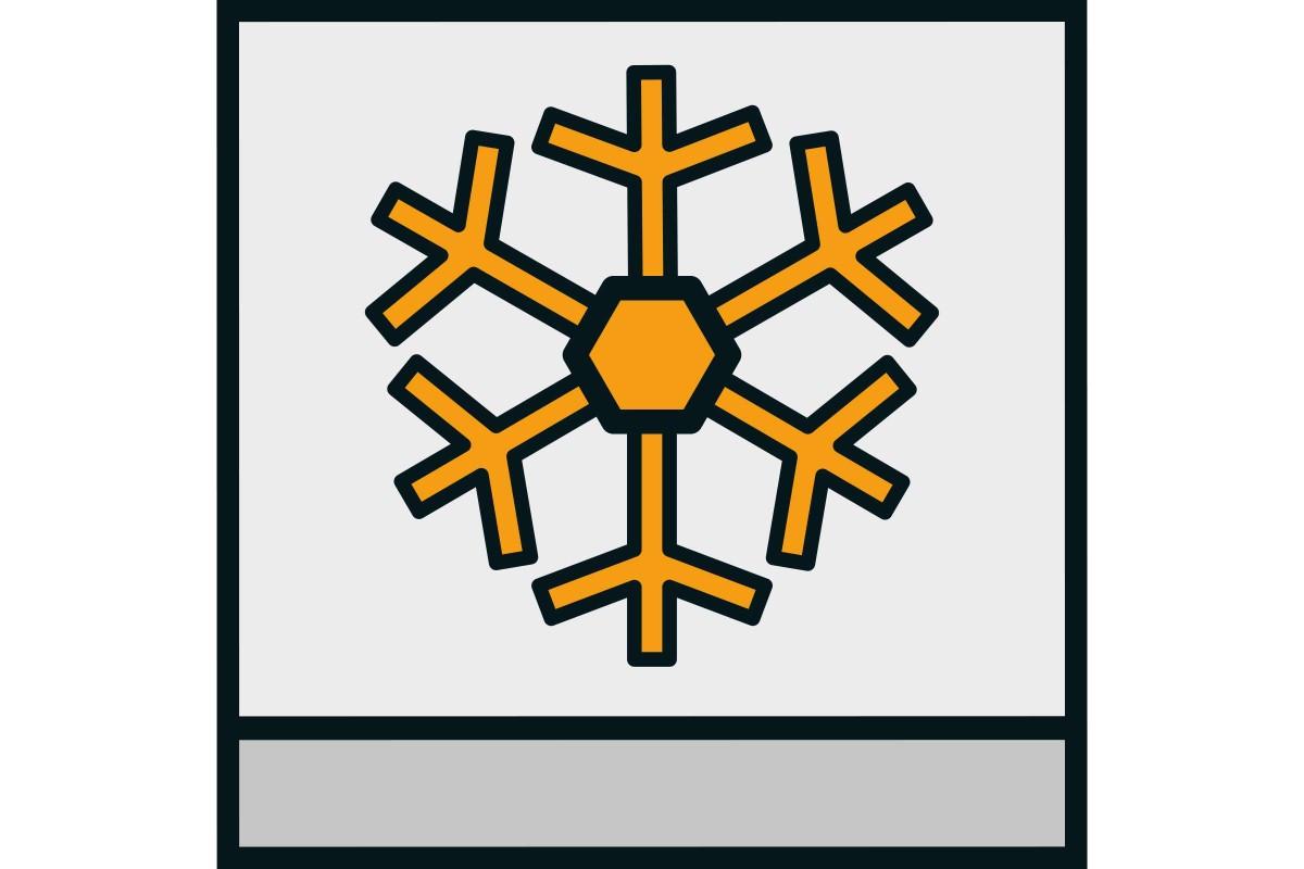 Simbol rezistenta la inghet placi ceramice