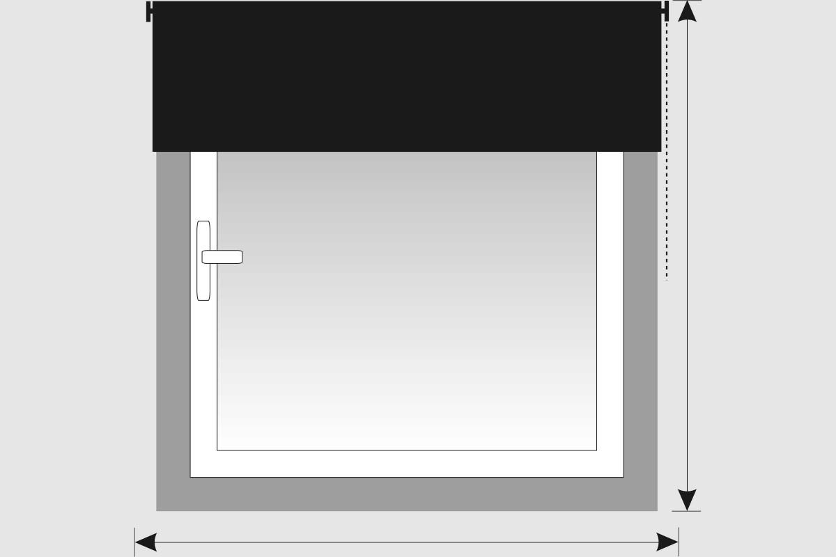 Montarea rulourilor si rulourilor duble de la nisa pe perete