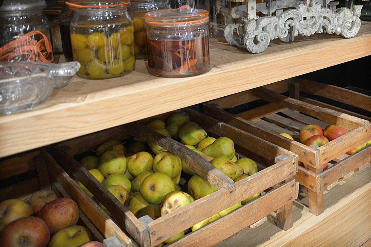 depozitarea fructelor in beci