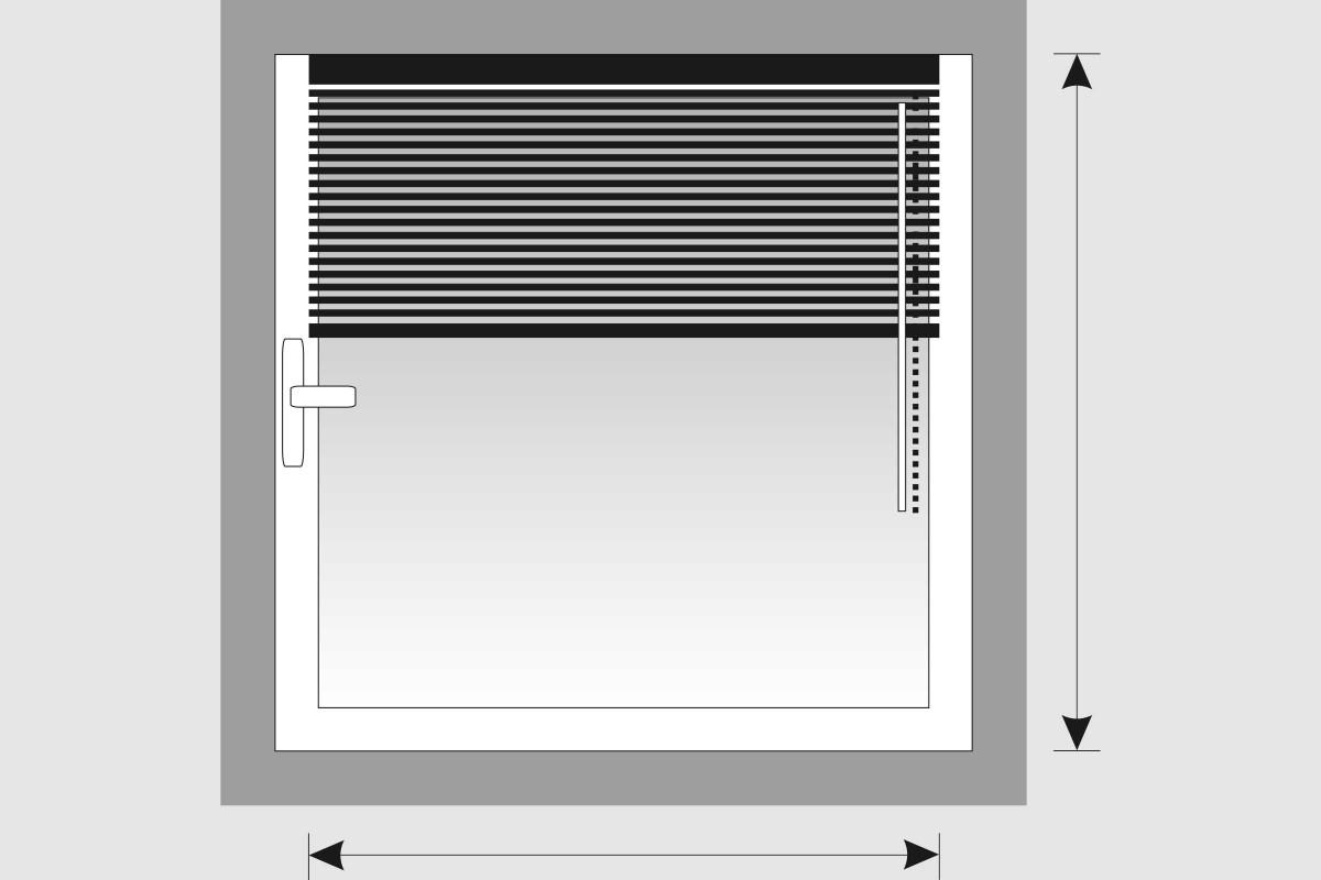 Montarea plisseelor si jaluzelelor pe batantul ferestrei