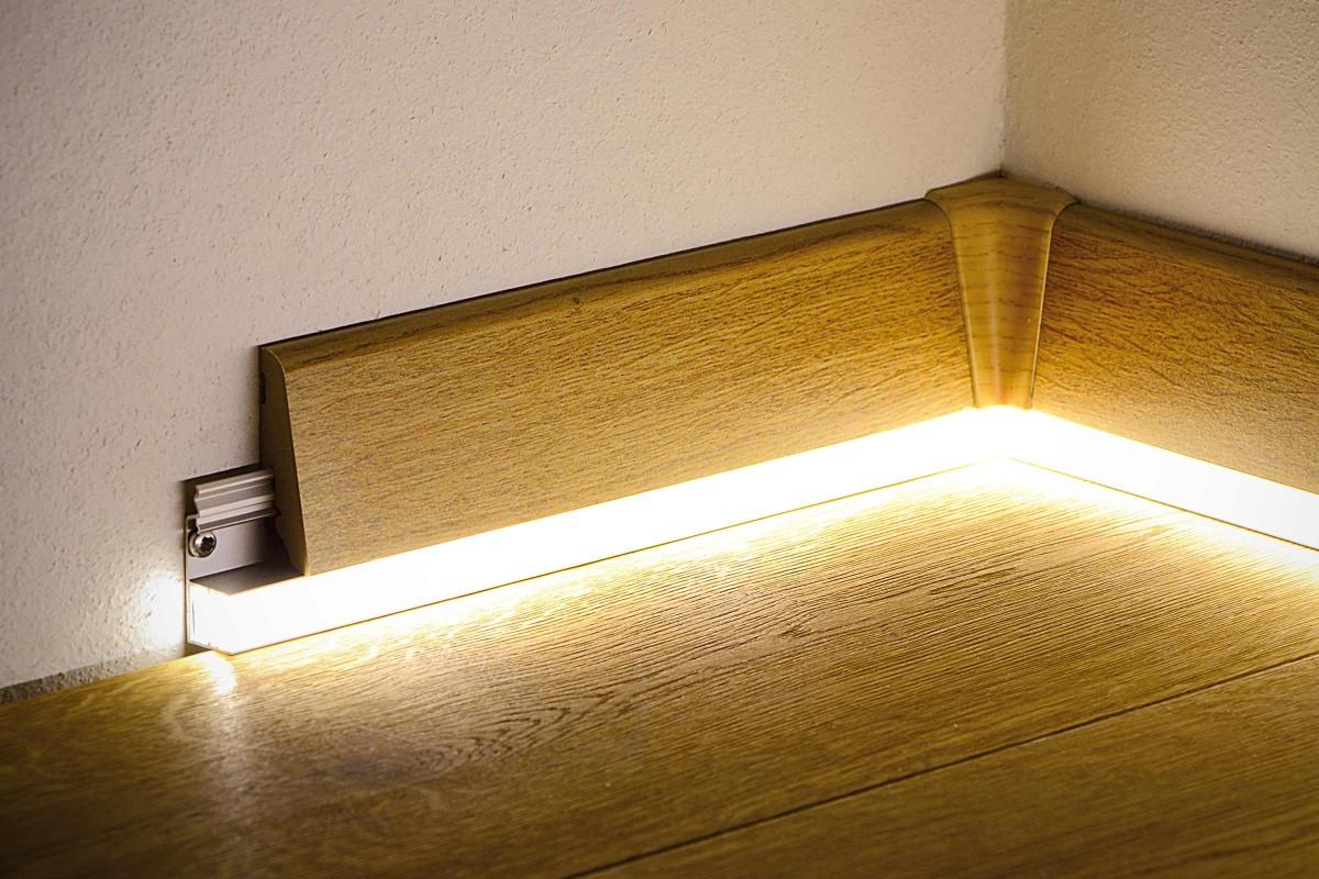 Plinte parchet LED