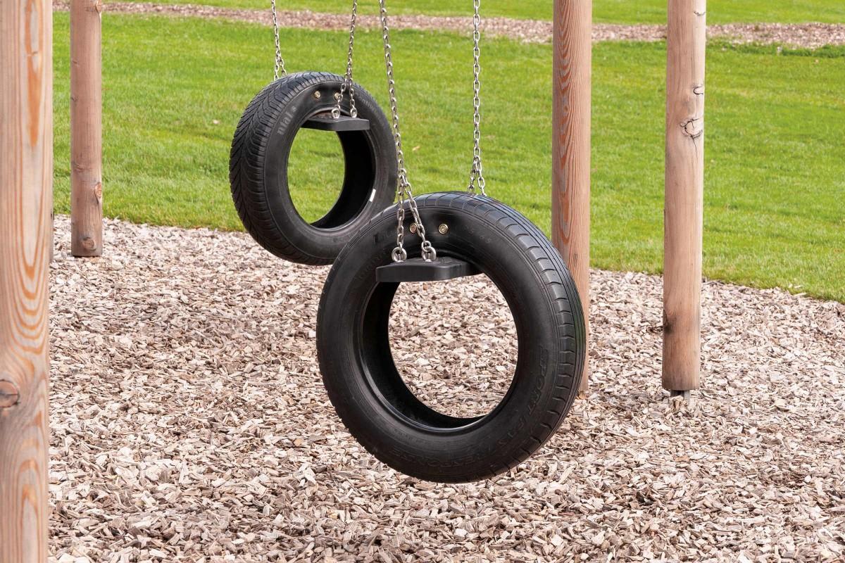 Sistem de protectie la cadere la locurile de joaca pentru copii