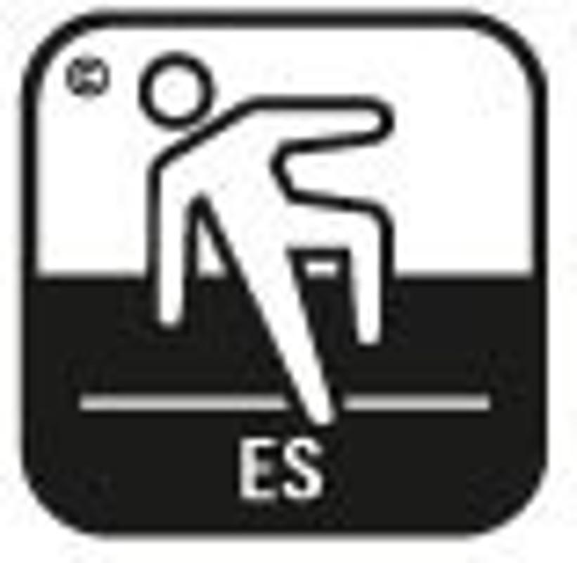 Simbol pardoseala securitate antiderapanta 3