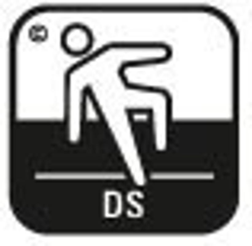 Simbol pardoseala securitate antiderapanta 2