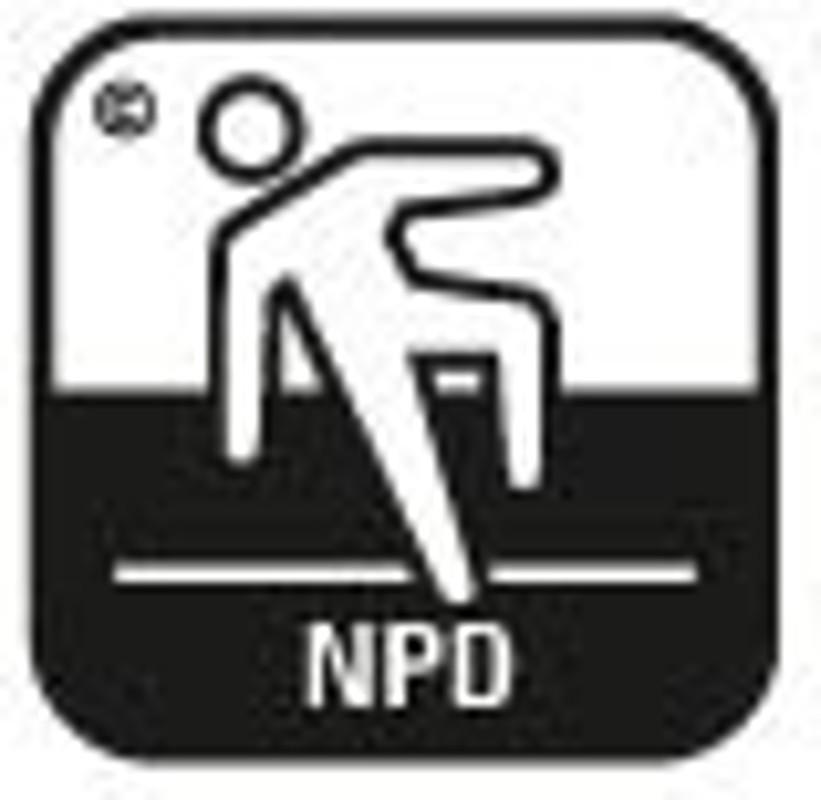 Simbol pardoseala securitate antiderapanta 1