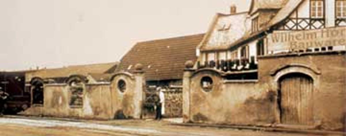 Istoria Hornbach 1900 02.