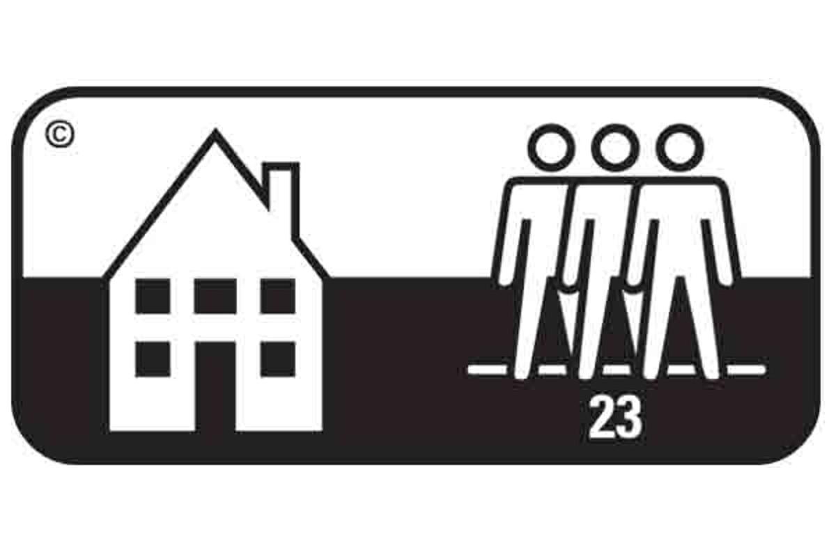 Simbol pardoseala clasa 23