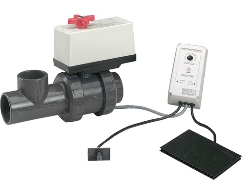 Sistem de comanda absorber solar, electronic