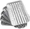 Tava pentru grill din aluminiu, 5 bucati