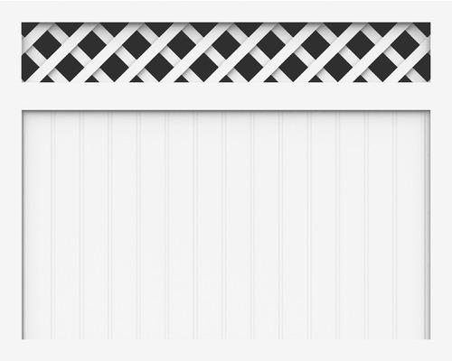 Element principal BasicLine tip M 150 x 120 cm, alb