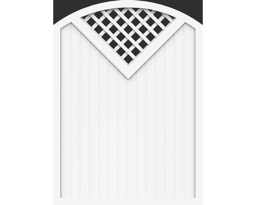 Element principal BasicLine tip G 150 x 205/180 cm, alb