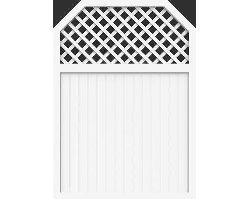 Element principal BasicLine tip I 150 x 210/180 cm, alb