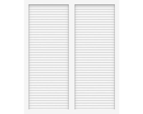 Element principal BasicLine tip S 150 x 180 cm, alb