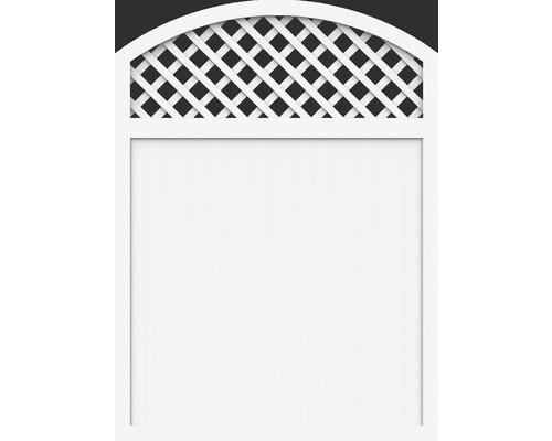 Element principal BasicLine tip X 150 x 205/180 cm, alb