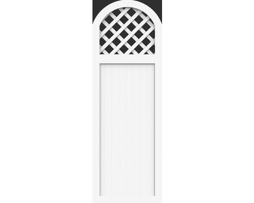 Element partial BasicLine tip Y 70 x 205/180 cm, alb