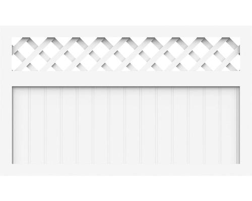 Element principal BasicLine tip K 150 x 90 cm, alb