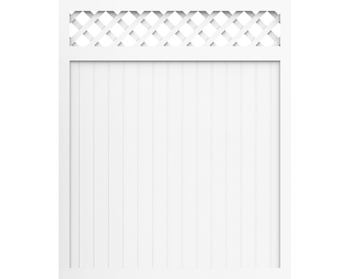 Element principal BasicLine tip C 150 x 180 cm, alb