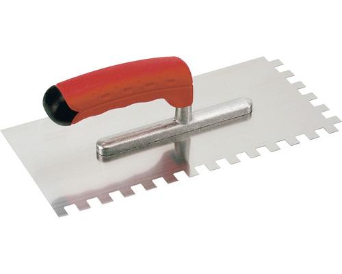 Gletiera inox cu dinti de 8 mm Kaufmann 28x13 cm