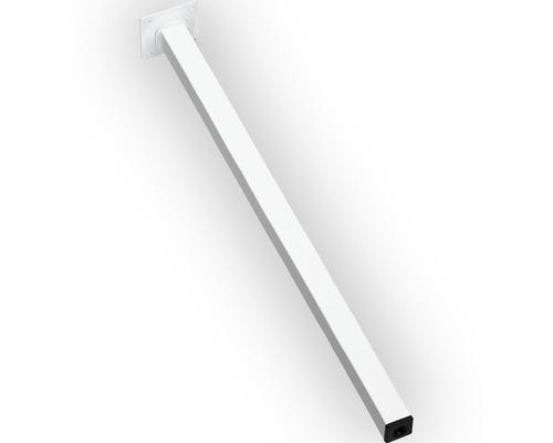 Picior mobila patrat Dolle 24x24x100 mm, culoare alba