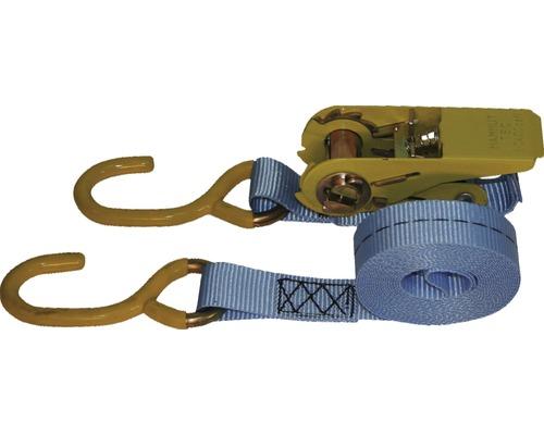 Set chingi de fixare cu clichet si carlig Mamutec 25mm x 4m, max. 800kg, 2 piese