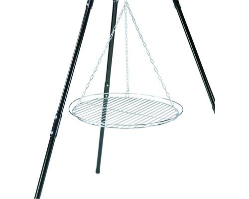 Grătar cu lanț pentru tripod, Ø 50 cm