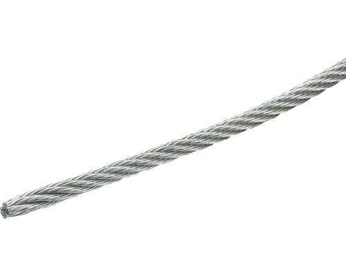 Cablu sufa otel zincat Pösamo Ø5 mm, inel 10m