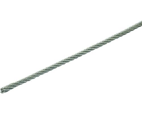 Cablu sufa otel inoxidabil Pösamo Ø3 mm, inel 10m