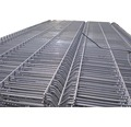 Panou gard 3D bordurat zincat 1230x2500 mm, 4 mm gri
