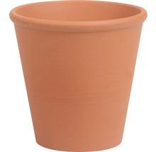 Ghiveci Spang, pentru trandafiri, argilă, Ø 12 cm, cărămiziu