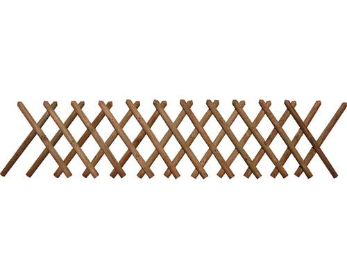 Gard vânătoresc, 250x100 cm, impregnat în autoclavă