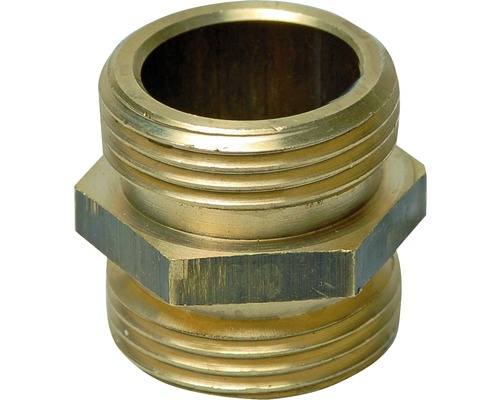 Niplu filetat din alama, cu filet exterior 1 1/4""