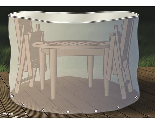 Invelis protectie mobilier terasa, rotund, Ø 200 cm