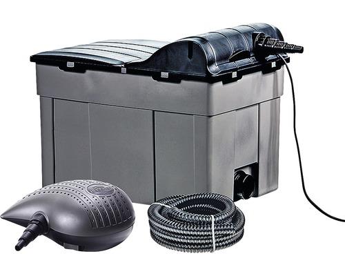 Set complet pentru limpezirea apei Heissner FPU, 11 W, 3300 l/h