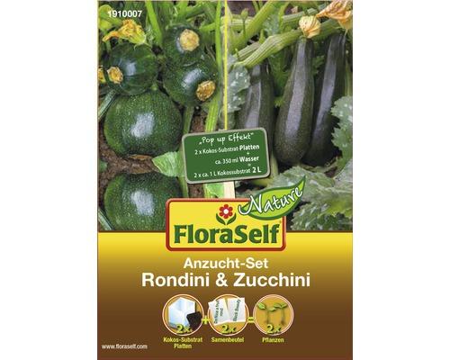 FloraSelf set de semănare dovlecel/zucchini