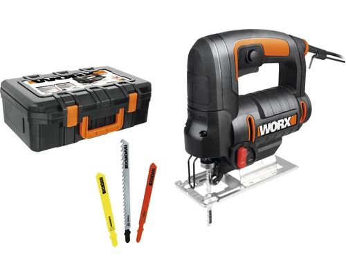 Fierastrau pendular vertical Worx WX477.1 550W max. 65mm, accesorii incluse