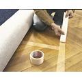 Bandă pentru pardoseli tesa® îndepărtare fără reziduuri, albă 50 mm x 10 m