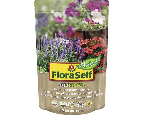 FloraSelf Nature® BIORGA ingrasamant pentru plante de gradina si de balcon 1,5 kg