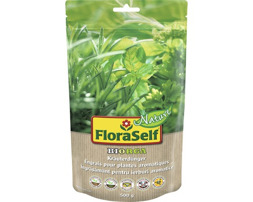 FloraSelf Nature® BIORGA ingrasamant pentru plante aromatice 500 g