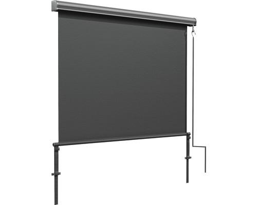 Marchiza/Copertina retractabila manuala verticala 1,4x2,5 m poliester antracit