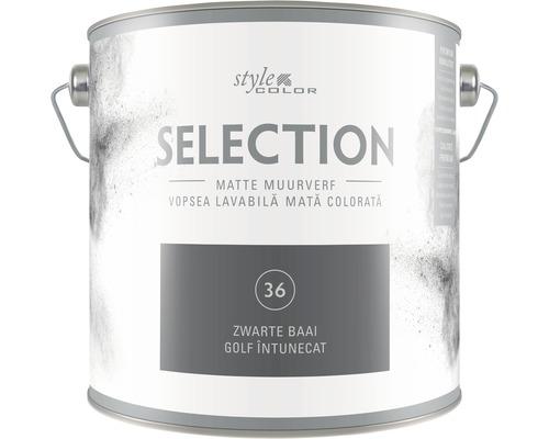 Vopseaua lavabila premium StyleColor SELECTION Nuanta 36 Golf intunecat 2,5 l