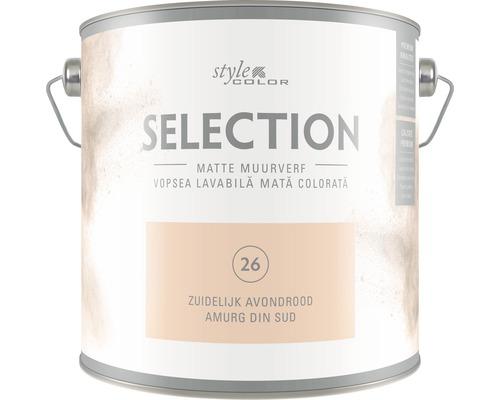 Vopsea lavabila premium StyleColor SELECTION Nuanta 26 Amurg de sud 2,5 l
