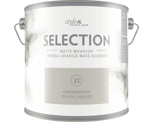 Vopsea lavabila premium StyleColor SELECTION nuanta 32 Palatul regilor 2,5 l