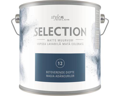 Vopsea lavabila premium StyleColor SELECTION nuanta 12 Magia adancurilor 2,5 l
