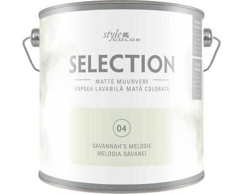Vopsea lavabila premium StyleColor SELECTION nuanta 04 Melodia Savanei 2,5 l