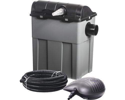 Set complet filtrare iaz, 11 W, 3300 l/h