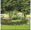 Gard protecție iaz zincat lăcuit 80x116 cm verde