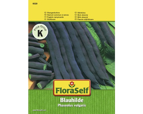 FloraSelf Seminte legume fasole Blauhilde