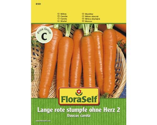 "FloraSelf seminte de morcovi ""Lange R.St.O.Herz"""