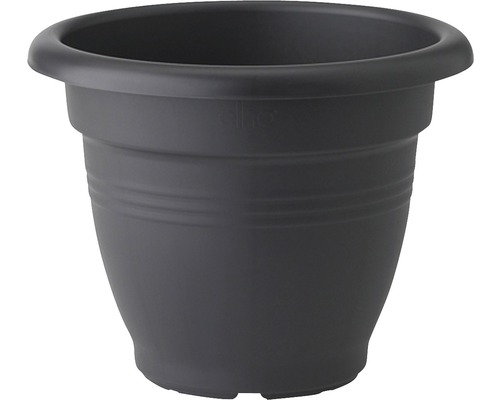Ghiveci elho Green Basics Campana, plastic, Ø 29 cm, negru